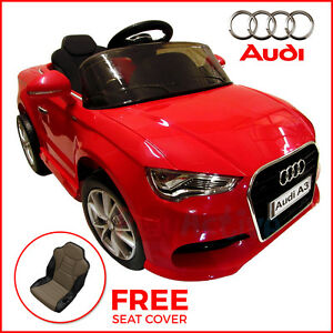kids ride on audi a3 licensed 12v car remote control twin motor battery cars ebay. Black Bedroom Furniture Sets. Home Design Ideas