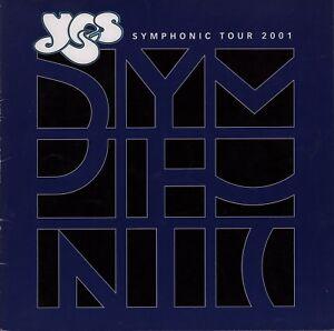 YES-2001-SYMPHONIC-TOUR-CONCERT-PROGRAM-BOOK-JON-ANDERSON-STEVE-HOWE-EX-2-NM