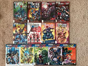 TPB-Graphic-Novel-Lot-Suicide-Squad-Harley-Quinn-Batman-Rebirth-New-52-Vol-1-2-3