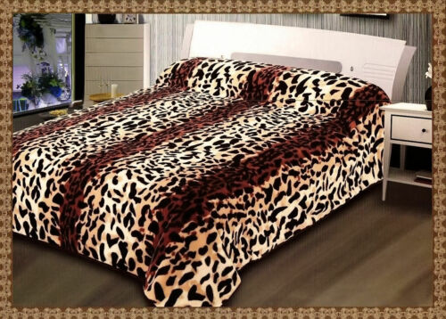 2 Ply Heavy Blanket Soft Thick Warm Bed throw Double Sided King//Double Size
