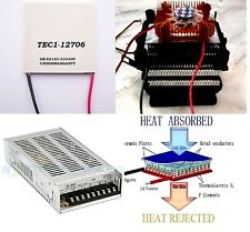 Thermoelectric cooler 12706 + Heatsink+Power Supply