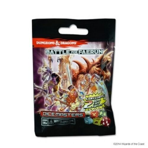 D/&D Dice Masters 1pc Dungeons /& Dragons Gravity Feed Single Booster