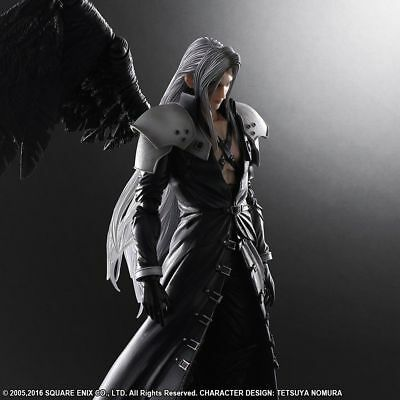 Square Enix Play Arts Sephiroth Final Fantasy Vii 7 Advent Children Figure Japan Ebay