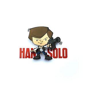 STAR-Wars-Mini-3D-LED-muro-luce-Han-Solo-Personaggio-Camera-Da-Letto-Bambini-Illuminazione