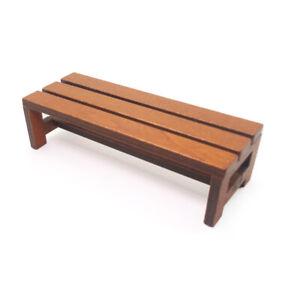 AU-EB-1-12-Miniature-Doll-House-Wooden-Bench-Long-Chair-DIY-Yard-Landscape-Dec