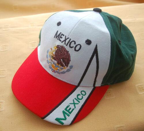 Mexiko  Fan cap Baseball Cap Kappe Flagge Fahne