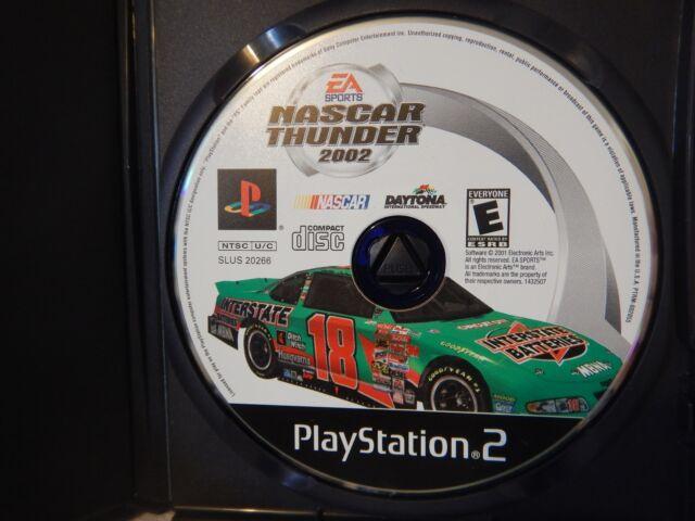 NASCAR Thunder 2002 (Sony PlayStation 2, 2001)