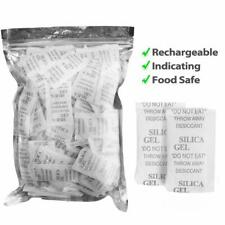 160 Packets 2 Gram Silica Gel Desiccant Non Toxic Moisture Absorber Dehumidifier