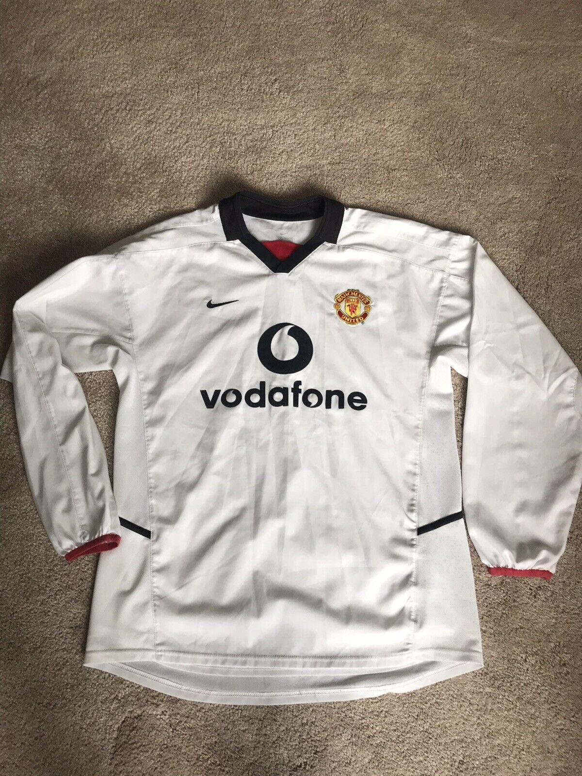 Manchester United Away Camicia 200203 adulti medio M Manica Lunga