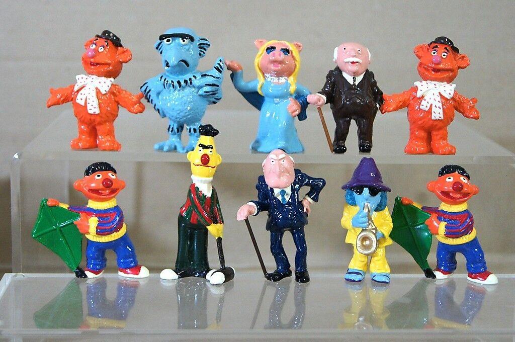 Britains Ducal The Muppets Bert Ernie Miss Piggy Fozzie Bär Kabel Figur Mv  | Lassen Sie unsere Produkte in die Welt gehen
