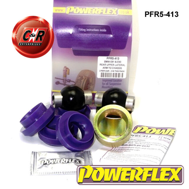 BMW E81 1 Series 3Dr 04on Powerflex Rear Up Lateral Arm To Chassis Bush PFR5-413