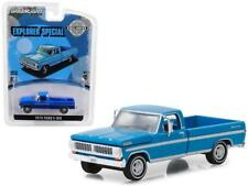 1970 ford f-100 Explorer truck long bed Blue ** GreenLight hobby 1:64 venta *