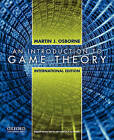 An Introduction to Game Theory by Martin J. Osborne (Paperback, 2009)