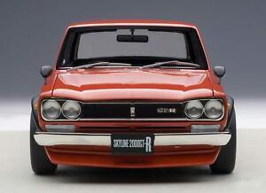 AUTOart-1-18-Nissan-Skyline-GT-R-KPGC10-Tuned-version-Red-model-car-from-JPN