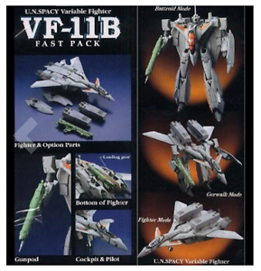 Macross-VF-11B-Fast-Pack-Ver-Figure-1-72-from-Japan-YAMATO