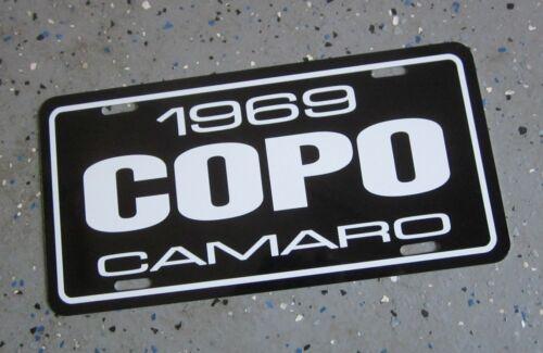 1969 Chevrolet COPO Camaro  license plate car tag 69 Chevy 427  C O P O