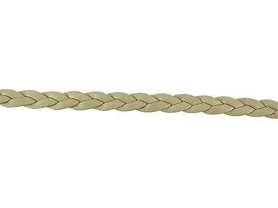 3 mètres de cordon tressé en simili cuir couleur bleu marine,perles,fimo