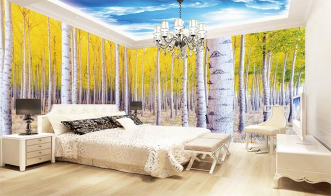 3D Hazy Sun Clouds 84 Ceiling WallPaper Murals Wall Print Decal Deco AJ WALLPAPE