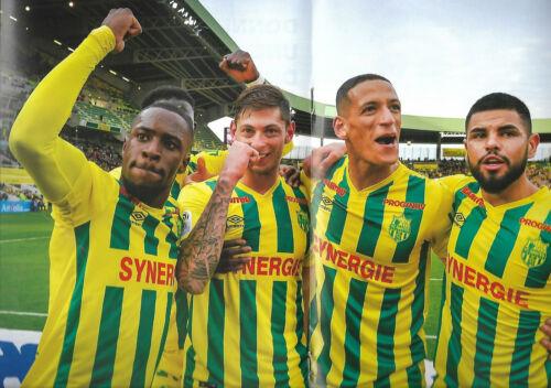 RONGIER Emiliano SALA FC NANTES Magazine N°0 avril 2018 FCN RENNES FC V