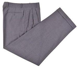 Italy Pantaloni grigio Zanella di in lana a eleganti Duncan di righe In tessuto twill Made 631526634693 32 gpwrnqxtwI