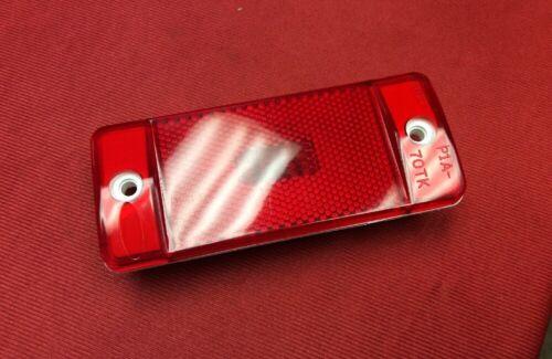 REAR RED NEW 1969-1972 FORD F SERIES TRUCK SIDE MARKER LIGHT LENS SET