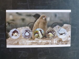 2014-ROSS-DEPENDANCY-PENGUINS-OF-ANTARCTICA-SET-5-STAMPS-FIRST-DAY-COVER