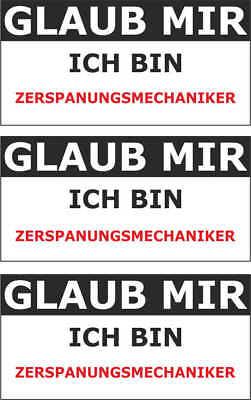 JDM  Sticker Aufkleber ICH BIN SCHULD csf0530 16 x 11 cm