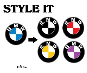 Fuer-BMW-Logo-Komplett-SET-Styling-Aufkleber-Autoaufkleber-Tuning-decal-24-8017