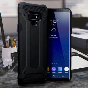 Galaxy-Note-9-Case-Shockproof-Rugged-Metal-Composite-Black-PRIMA-MOB21