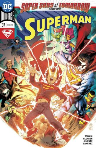 SUPERMAN #37 DC BLOWOUT BOX $2.99 COVER PRICE SUPER SONS OF TOMORROW