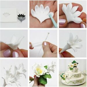 Fondant-Pastry-Cookie-Baking-Tools-Mould-Flower-Decorating-Petal-Cutter-Mold