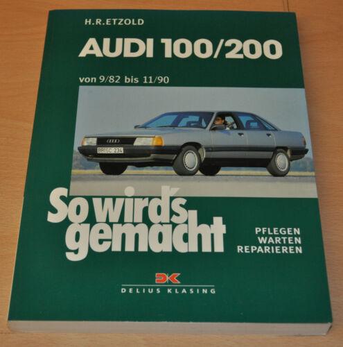 1 von 1 - AUDI 100 200 und AUDI 200 Diesel von 9/82 bis 11/90 Reparaturanleitung SWG 41