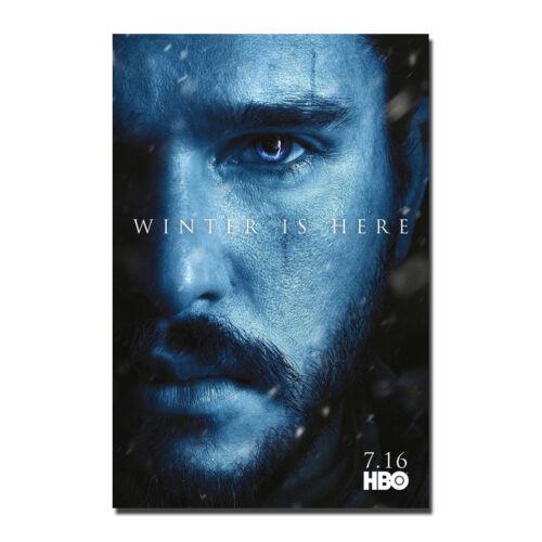 Game of Thrones Season 7 TV Series Silk Poster Art Print 13x20 32x48inch