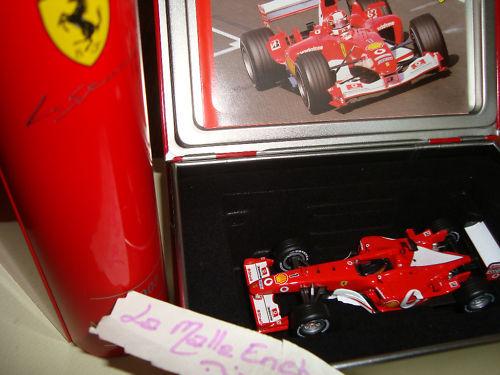 Ferrari F2003 Ga N°1 1/43 ° Scatola in Metallo Schumacher Formula 1