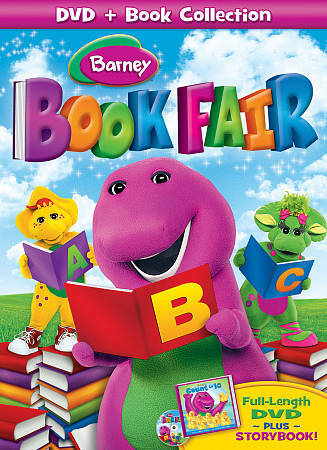 Barney Book Fair Dvd 2009 Book Included For Sale Online Ebay