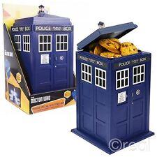 NUOVO Doctor Who Tardis Cookie Jar Biscotto Tin con Luci & Suoni Cucina Ufficiale