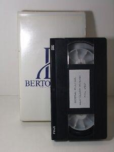 Bertolucci-VHS-video-tape-S-P