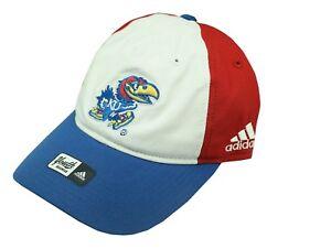 NCAA Kansas Jayhawks Boys Size (8-20) Hat Cap One Size Fits Most Adidas New