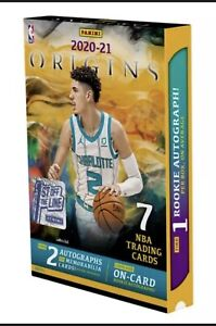FOTL 1st Off Line 2020-21 PANINI ORIGINS NBA Basketball Sealed BOX Order Confirm