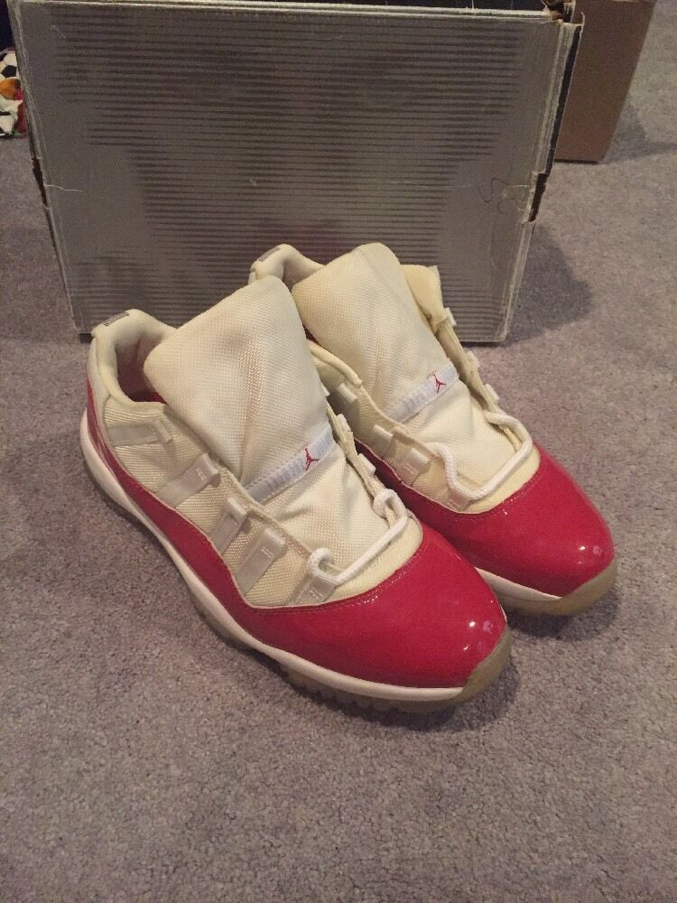 2018 NIKE AIR JORDAN RED CHERRY XI 11 LOW SIZE 12 OG GREAT CONDITION