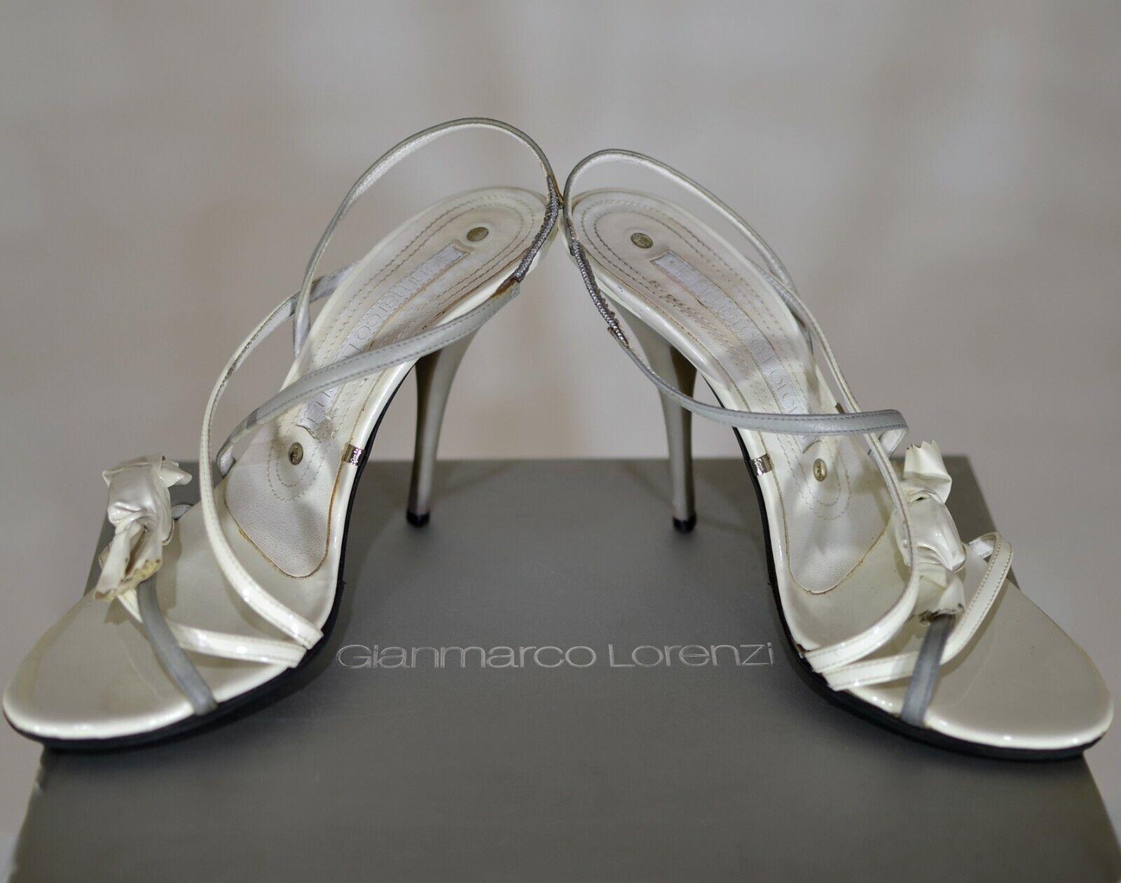 Gianmarco Lorenzi sandalias, Cocheamelo, Hell Color blancoo 37 - 7.