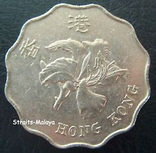HONG KONG 2 DOLLARS 1993 COIN