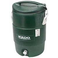 Igloo 5 Gallon Green Cooler on sale