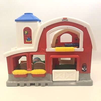 Fisher Price Little People 2004 Barn With Animal Sounds ...