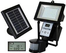 Digital 80 LED Ultra Bright Solar Powered Motion Detector Security Light Garage