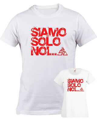 T shirt Vasco Siamo solo noi vasco rossi blasco ottimo cotone bianca uomo donna | eBay