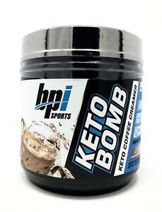 BPI Sports Keto Bomb Ketogenic Creamer for 18 Servings - Caramel Macchiato