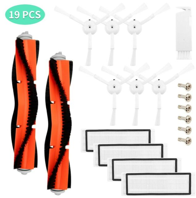 19PCS Vacuum Cleaner Parts Replacement for Xiaomi Mi Robot and Cleaner