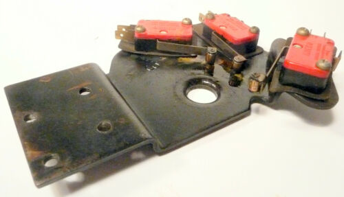 Tested /& Working  3 MICRO-SWITCH UNIT ROCK-OLA 437 JUKEBOX part
