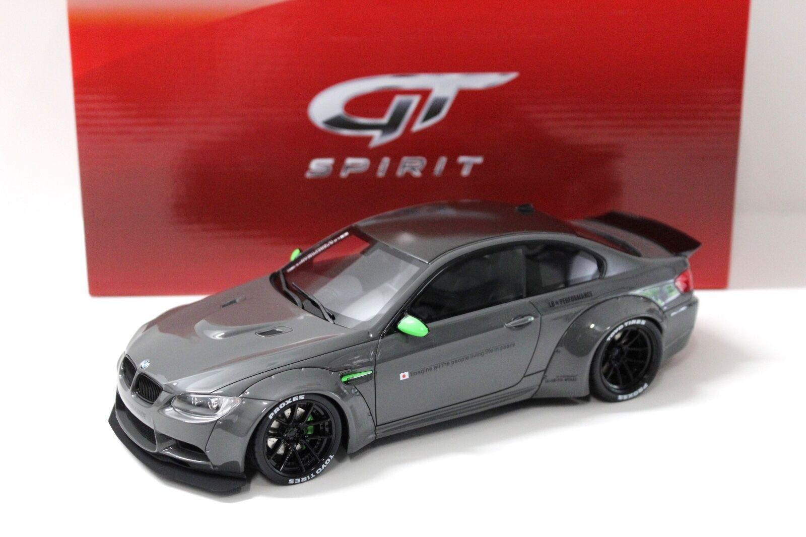 1 18 GT Spirit BMW m3 (e92) LB Performance gris New chez Premium-modelcars